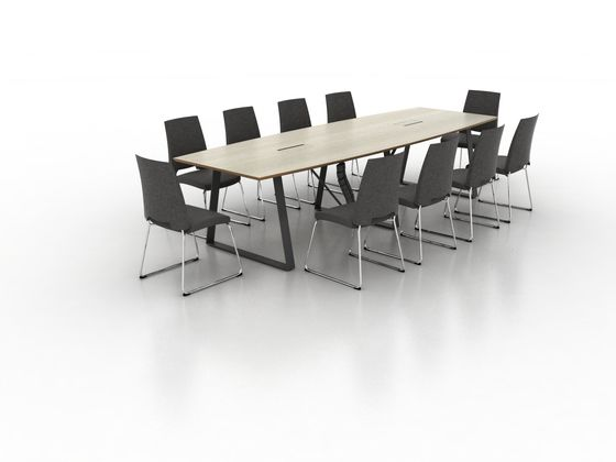 Coach Conference table by Ergolain by Ergolain