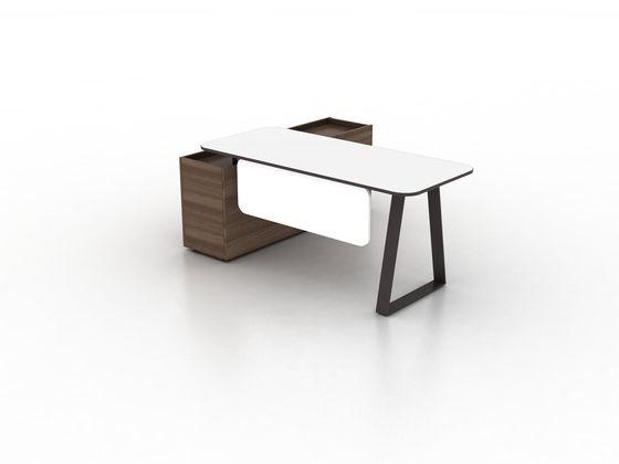 Coach Single office desk by Ergolain by Ergolain