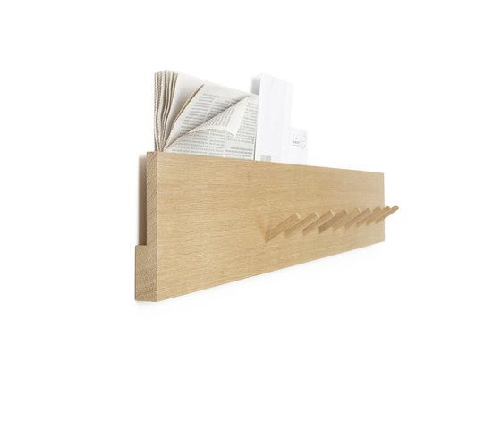 Coat rack and mail holder by Bautier by Bautier