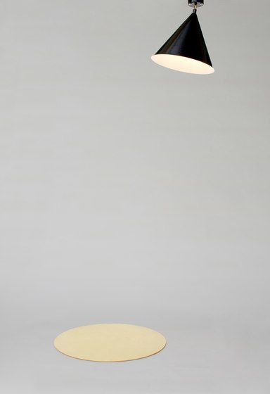 Cone and Plate Ceiling Lamp by Atelier Areti by Atelier Areti