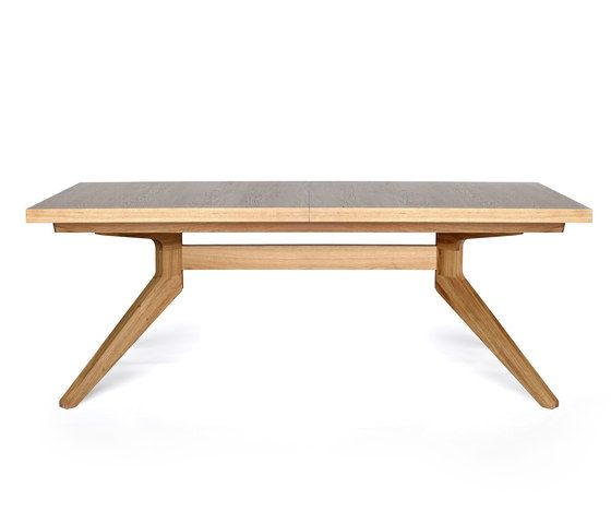 Cross extending table by Case Furniture by Case Furniture