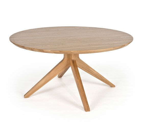 Cross round dining table by Case Furniture by Case Furniture