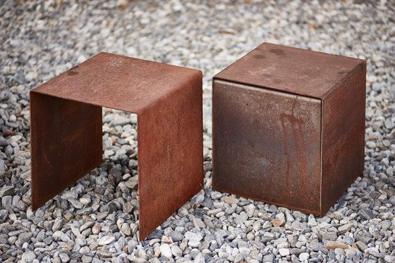 Cubetable   Chair by Feuerring by Feuerring