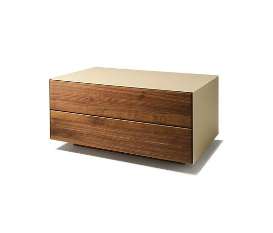 cubus pure night stand by team 7 by sebastian desch for team 7. Black Bedroom Furniture Sets. Home Design Ideas