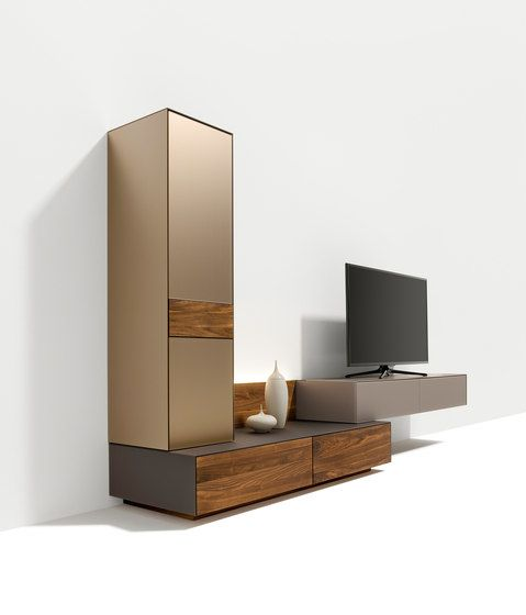 cubus pure wall storage system by TEAM 7 by TEAM 7