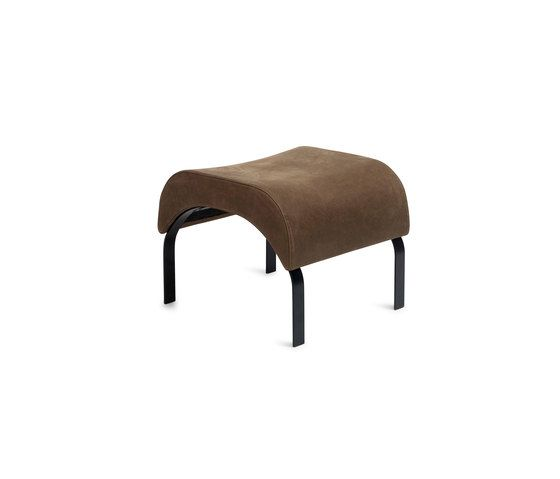 Curves | ottoman by Erik Bagger Furniture by Erik Bagger Furniture