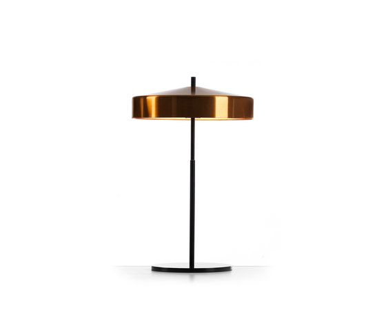 Cymbal 32 tablelamp copper black by Bsweden by Bsweden