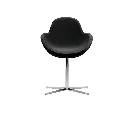 Darling 1 swivel armchair by Frag by Frag