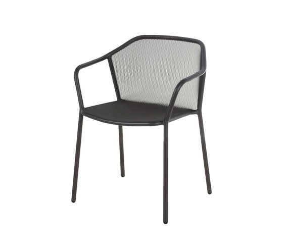 Darwin Dining Chair with Armrests - Set of 4 by EMU
