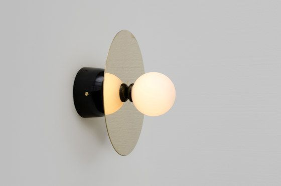 Disc and Sphere Wall Lamp by Atelier Areti by Atelier Areti