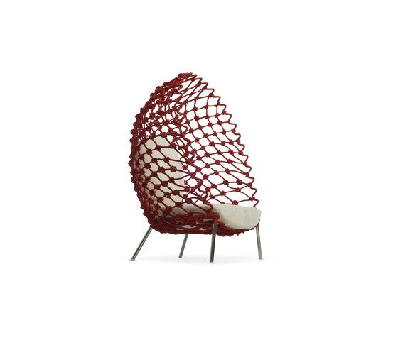 Dragnet Lounge Armchair by Kenneth Cobonpue by Kenneth Cobonpue