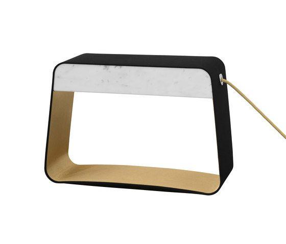 Eau de lumière Table lamp Medium Rectangle by designheure by designheure