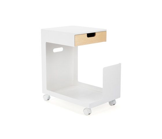 Ed Mobile Pedestal by L&Z by L&Z
