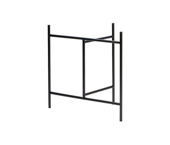 Eiermann 3 Table Trestle by Lampert by Lampert
