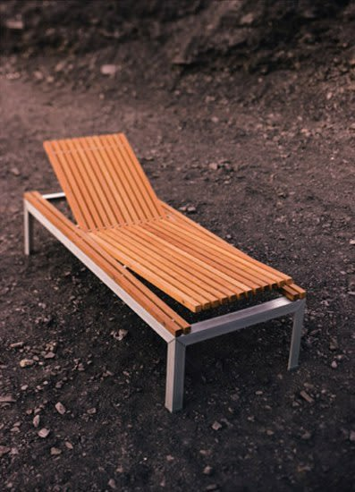 Extempore sun bed by extremis by extremis