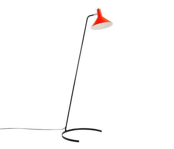 Floor Lamp No. 1505: The Horse Shoe by ANVIA by ANVIA