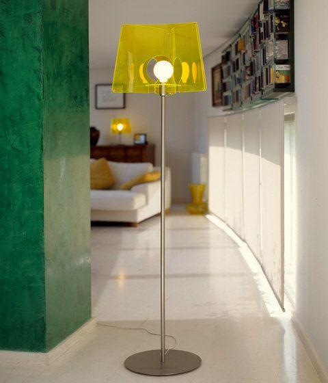 Fluo floor lamp by almerich by almerich