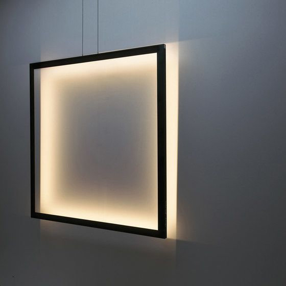 framed suspension lamp square by jacco maris by jacco maris. Black Bedroom Furniture Sets. Home Design Ideas