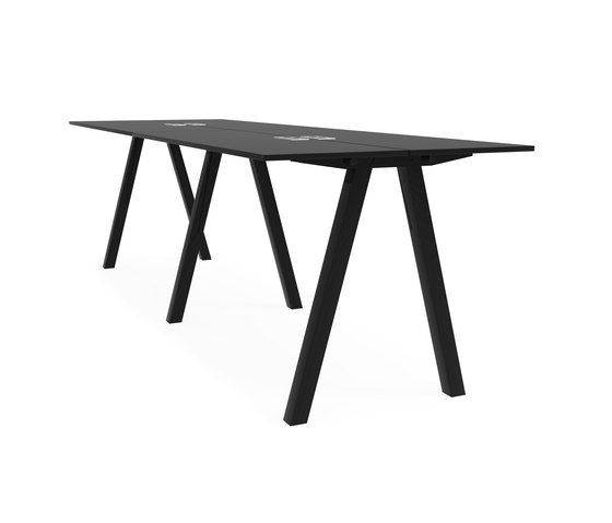 Frankie bench desk high A-leg 110cm by Martela Oyj by Martela Oyj