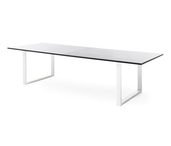 Frankie conference table with sled base by Martela Oyj by Martela Oyj