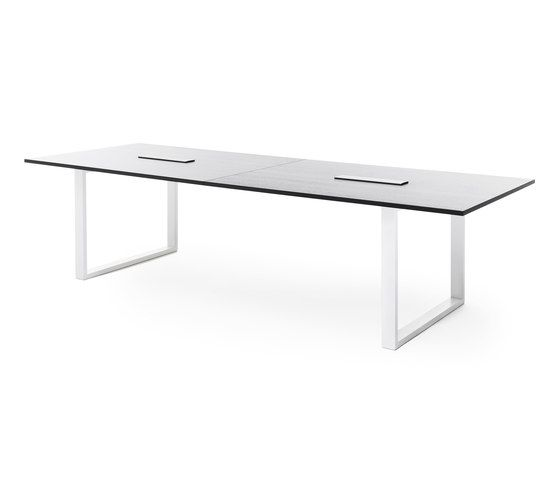 Frankie conference table with sled base E by Martela Oyj by Martela Oyj
