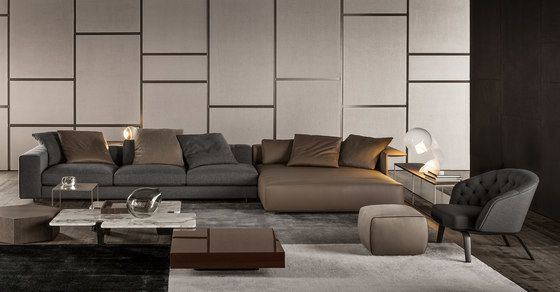 Freeman Duvet Sofa By Minotti By Rodolfo Dordoni For Minotti