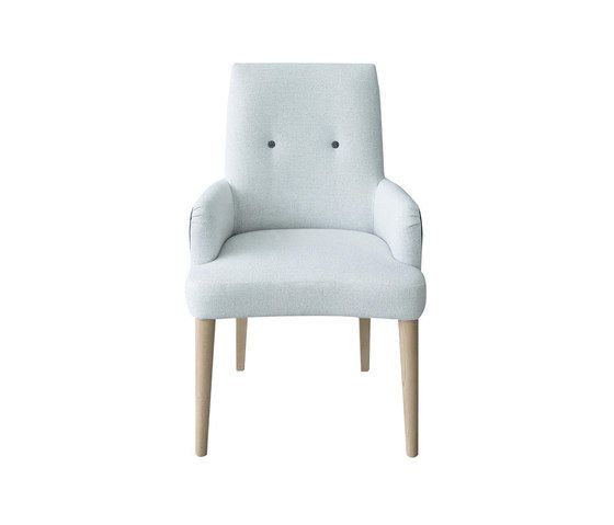 Gibson Alto Chair with arms by Designers Guild by Designers Guild