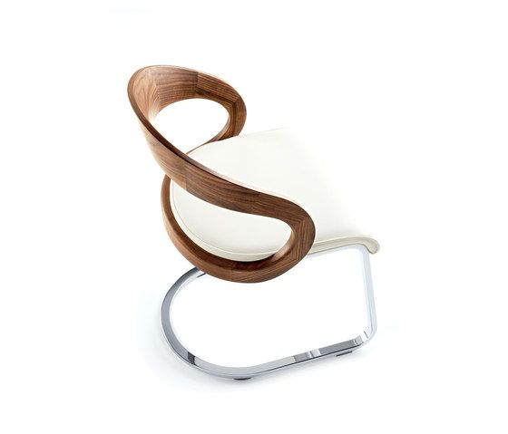girado cantilever chair by TEAM 7 by TEAM 7