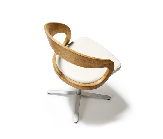 girado chair with center leg by TEAM 7 by TEAM 7