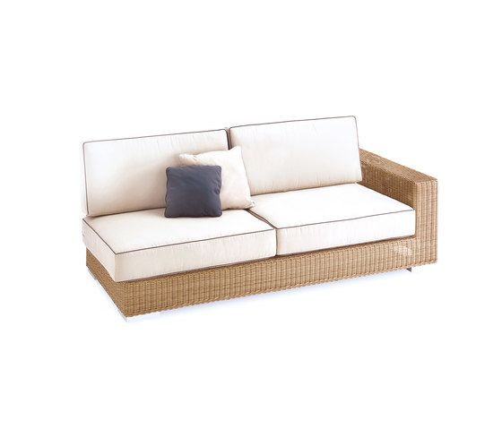 Golf sofa 3 left arm by Point by Point