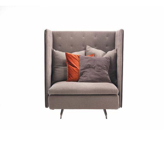GranTorino HB Armchair by Poltrona Frau by Poltrona Frau