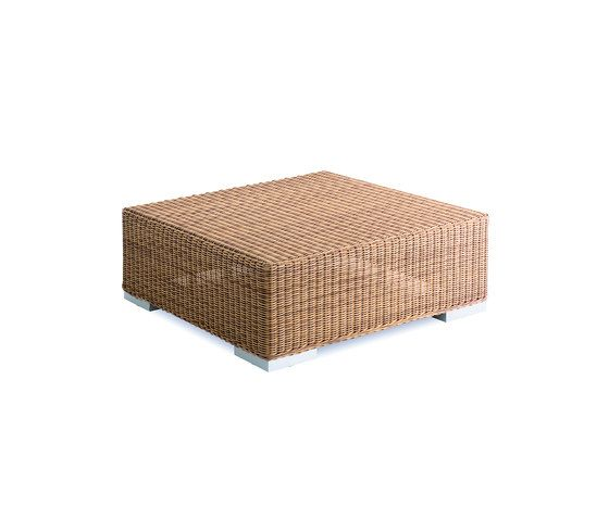 Green square coffee table by Point by Point
