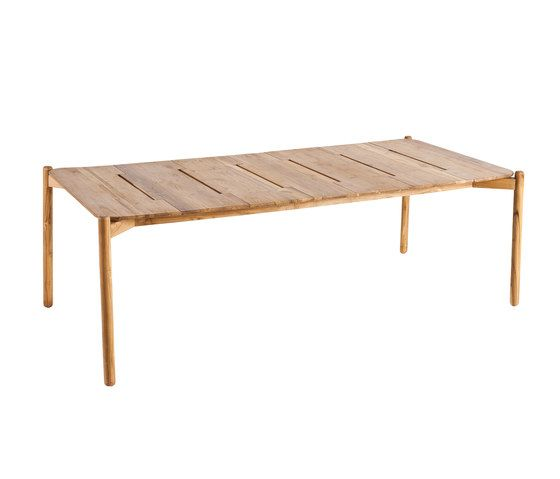 Hamp rectangular dining table by Point by Point