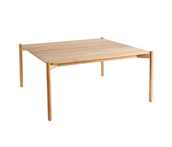 Hamp square dining table by Point by Point