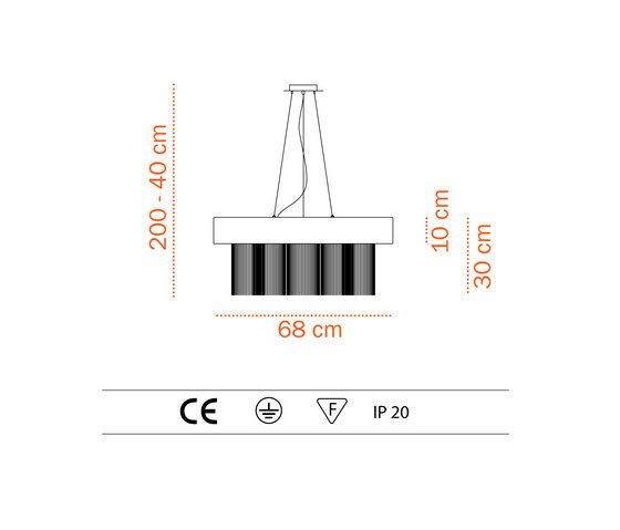 Hang Loose S – suspended lamp by Bernd Unrecht lights by Bernd Unrecht lights