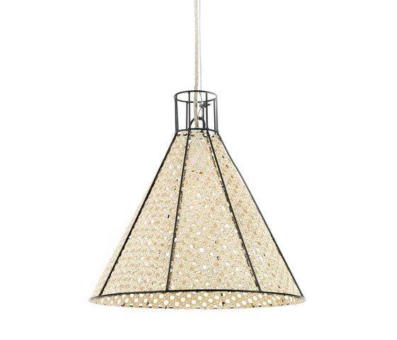 Hanging Lamp Reed Net black by Serax by Serax