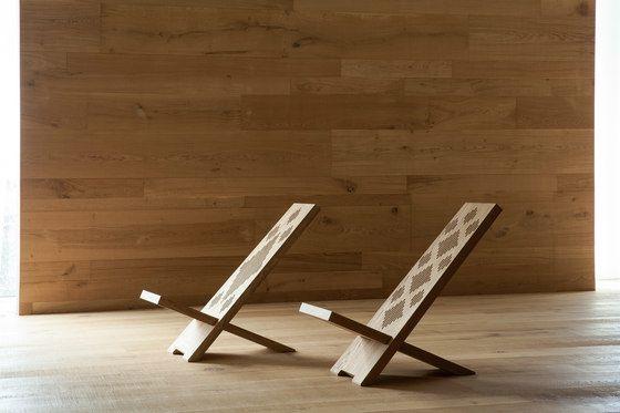 I Massivi | DMF/007 Long chair by Itlas by Itlas