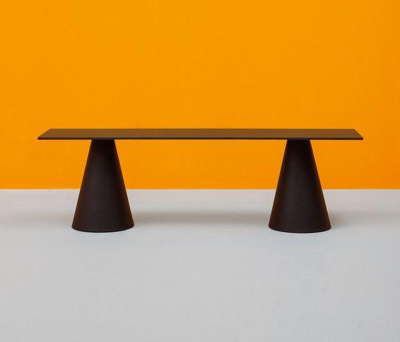 Ikon bench by PEDRALI by PEDRALI