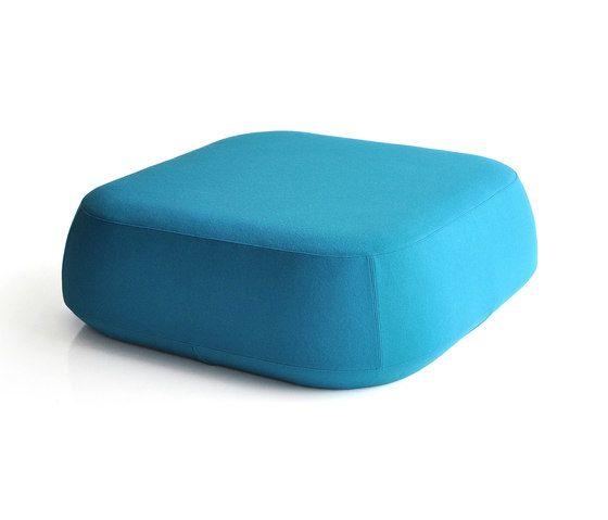 Ile Pouf large square pouf by Bensen by Bensen