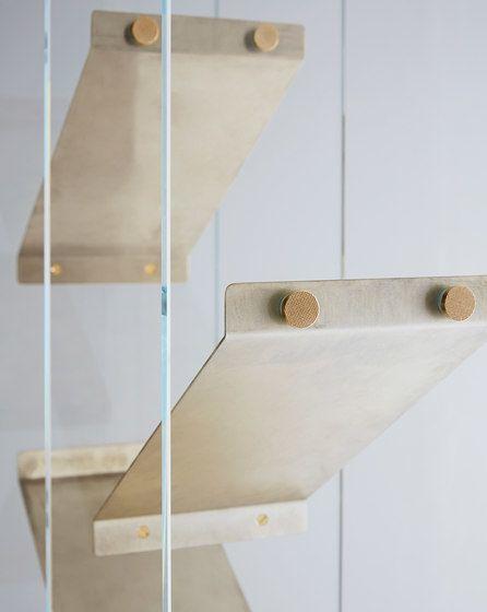 Isola Shelving system by Gallotti&Radice by Gallotti&Radice