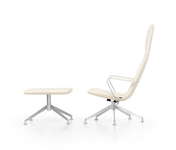 JACK Loungechair rotatable by Girsberger by Girsberger