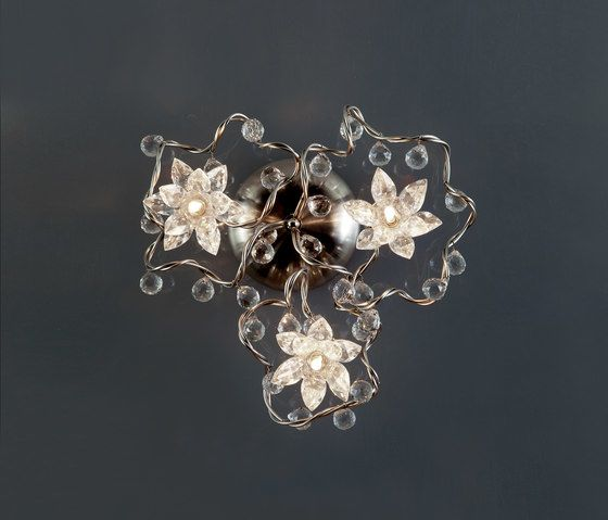 Jewel Diamond Oval Wall lamp PL 3 by HARCO LOOR by HARCO LOOR