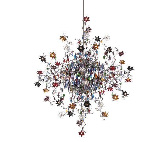 Jewel Double pendant light 48-multicolor by HARCO LOOR by HARCO LOOR