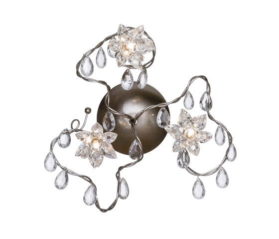 Jewel wall lamp 3-transparent by HARCO LOOR by HARCO LOOR