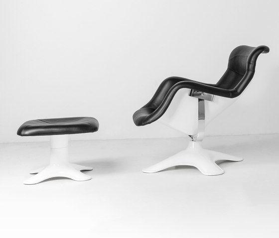 Karuselli Lounge Chair with Ottoman by Artek by Artek