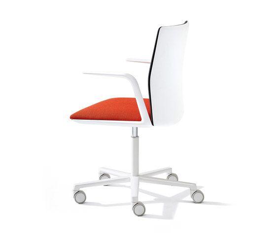 Kinesit adjustable armrests by Arper by Arper