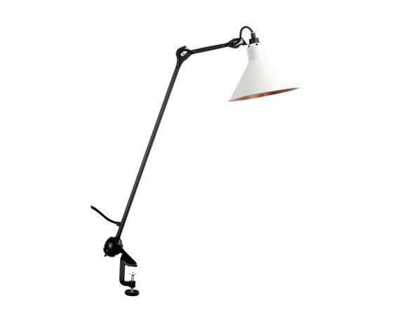 LAMPE GRAS - N°201 white/copper by DCW éditions by DCW éditions