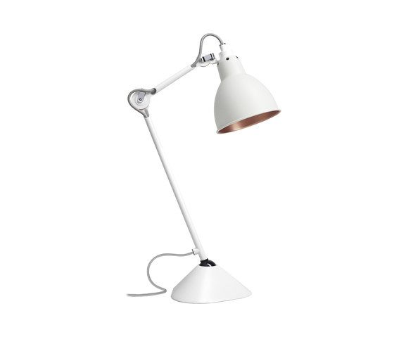 LAMPE GRAS - N°205 white/copper by DCW éditions by DCW éditions