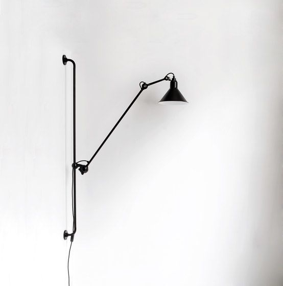 LAMPE GRAS - N°214 white/copper by DCW éditions by DCW éditions