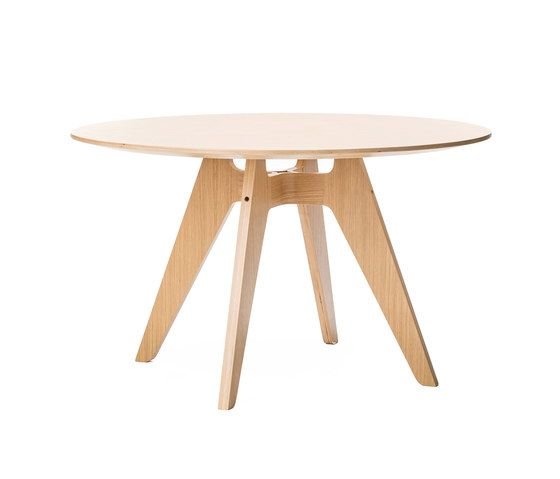 Lavitta 4-legged round table by Poiat by Poiat